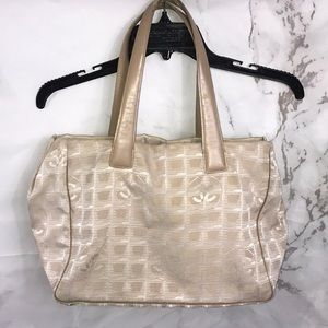 Chanel travel line cc Logo purse bag 1